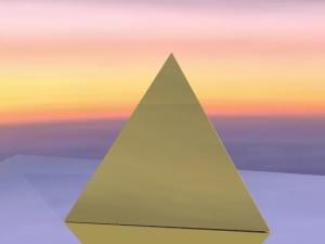 TETRAHEDRON - Gold